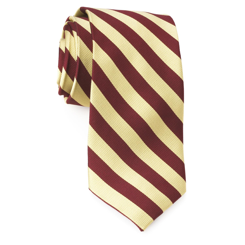 5e3b8ff1380f Tie – College Rep 68186 #5 Burgundy Gold – Private Design Wear