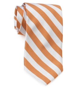 Tie – College Rep 68186 #10 Orange SIlver