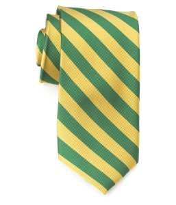 Tie – College Rep 68186 #12 Green Yellow