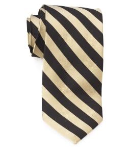 Tie – College Rep 68186 #14 Gold Black