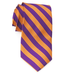Tie – College Rep 68186 #15 Purple Orange