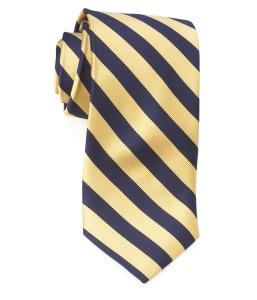 Tie – College Rep 68186 #16 Navy Yellow
