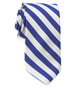 Tie – College Rep 68186 #2 Blue and Silver