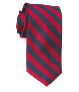 Tie – College Rep 68186 #4 Navy Red