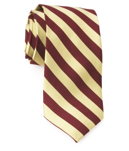 Tie – College Rep 68186 #5 Burgundy Gold