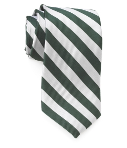 Tie – College Rep 68186 #7 Green Silver