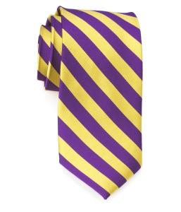 Tie – College Rep 68186 #8 Purple Yellow