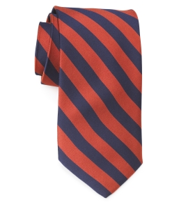 Tie – College Rep 68186 #9 Navy Orange